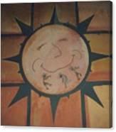 Sun Dance Tile Kit Canvas Print