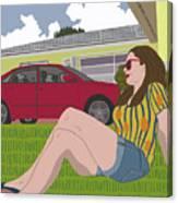 Sun Days Canvas Print