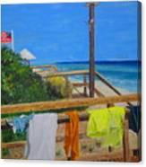 Sun Deck Canvas Print