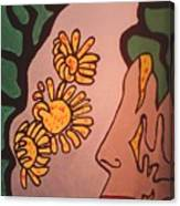 Sun Flower Conection Canvas Print