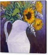 Sun Flower Song Canvas Print