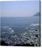 Sun Glints Off Te Ocean Near Cape Canvas Print