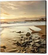 Sun Going Down Over Spanish Point Canvas Print