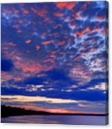 Sun Has Set Canvas Print