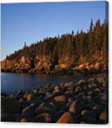 Sun Kissed Acadia Canvas Print