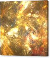 Sun Marble Canvas Print