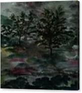 Sun Meadow Canvas Print