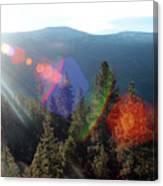 Sun Orbs Canvas Print