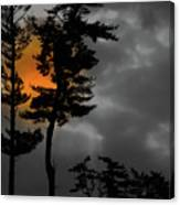 Sun Over Spring Ridge Canvas Print