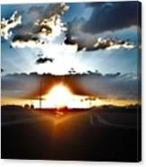 Sun-plosion... Canvas Print