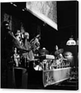 Sun Ra Arkestra At The Red Garter 1970 Nyc 10 Canvas Print