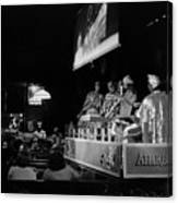 Sun Ra Arkestra At The Red Garter 1970 Nyc 13 Canvas Print