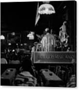 Sun Ra Arkestra At The Red Garter 1970 Nyc 15 Canvas Print