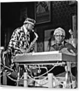 Sun Ra Arkestra At The Red Garter 1970 Nyc 3 Canvas Print