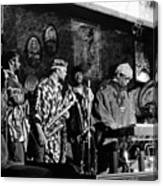 Sun Ra Arkestra At The Red Garter 1970 Nyc 4 Canvas Print