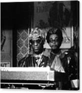 Sun Ra Arkestra At The Red Garter 1970 Nyc 8 Canvas Print