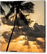 Sun Rays Over Islamorada Canvas Print