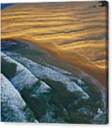 Sun Rise Coast  Canvas Print
