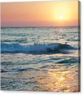 Sun Sets Over Seven Mile Beach Canvas Print