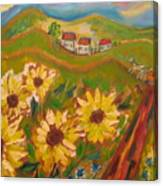 Sun Song Canvas Print
