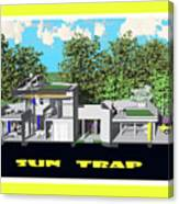 Sun Trap Section Canvas Print
