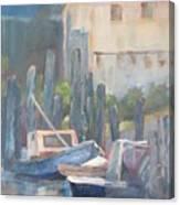 Sun Up Eastpoint Canvas Print