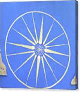 Sun Wheel Canvas Print