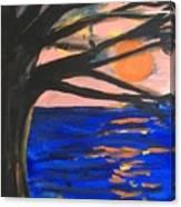 Sun Worshipping Canvas Print