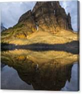 Sunburst Peak Reflection Canvas Print