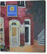 Sundail Books, Chincoteague Island, Va Canvas Print