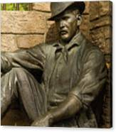 Sundance Kid Statue 4 Canvas Print