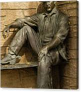 Sundance Kid Statue 5 Canvas Print
