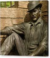 Sundance Kid Statue 6 Canvas Print