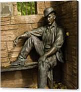 Sundance Kid Statue Canvas Print