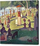 Sunday Afternoon On The Island Of La Grande Jatte Canvas Print