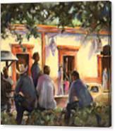 Sunday At The Alameda Canvas Print
