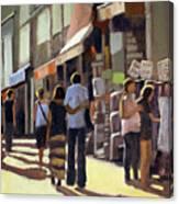 Sunday Bazaar Canvas Print