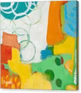 Sunday Day Bubbles Canvas Print