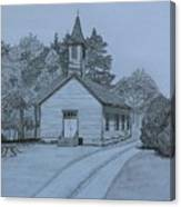 Sunday In Fairview  Canvas Print