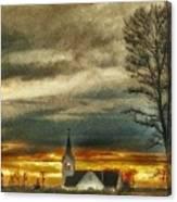 Sunday Sunset Canvas Print