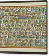 Sunder Kand- Ramayana Phad Canvas Print