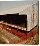 Sunderland - Roker Park - Main Stand 2 - Leitch - 1970s Canvas Print
