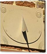 Sundial.  Canvas Print