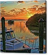 Sundown By H H Photography Of Florida Canvas Print