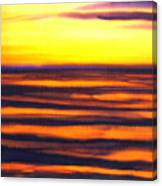 Sundown In The Marshlands Canvas Print