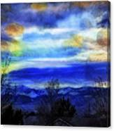 Sundown Overhead-2 Canvas Print