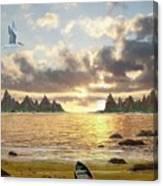 Sundown Seascape Canvas Print