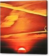 Sundragon  Canvas Print