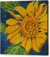 Sunflower - Mini Canvas Print