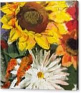 Sunflower Canvas Print